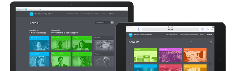 Xero U and TV Education