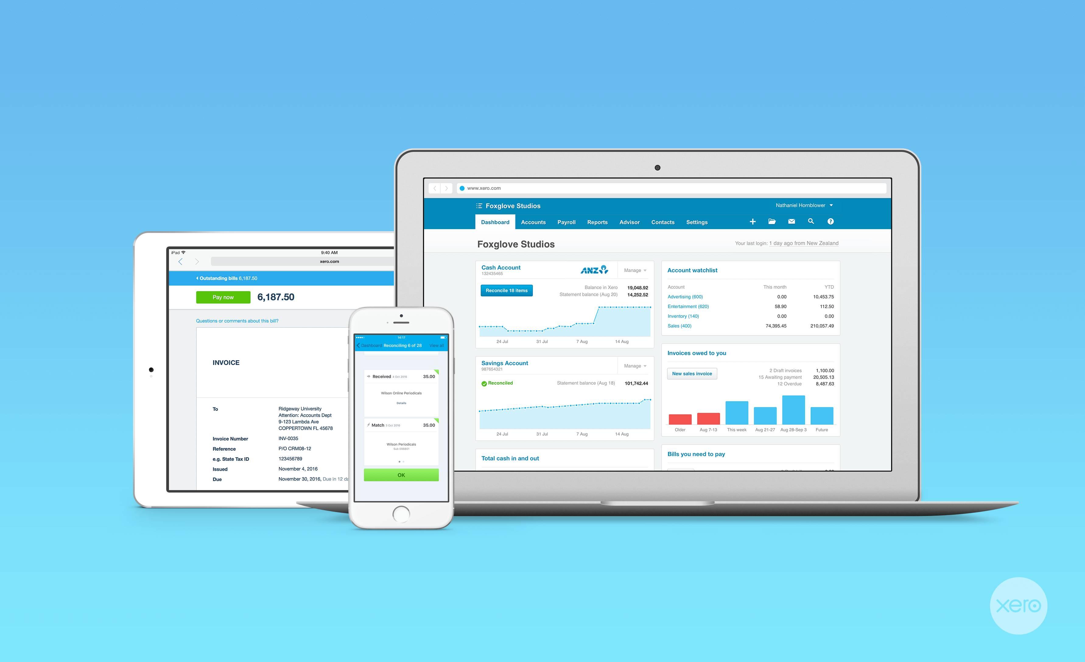 Xero Cloud Accounting Certified Advisor