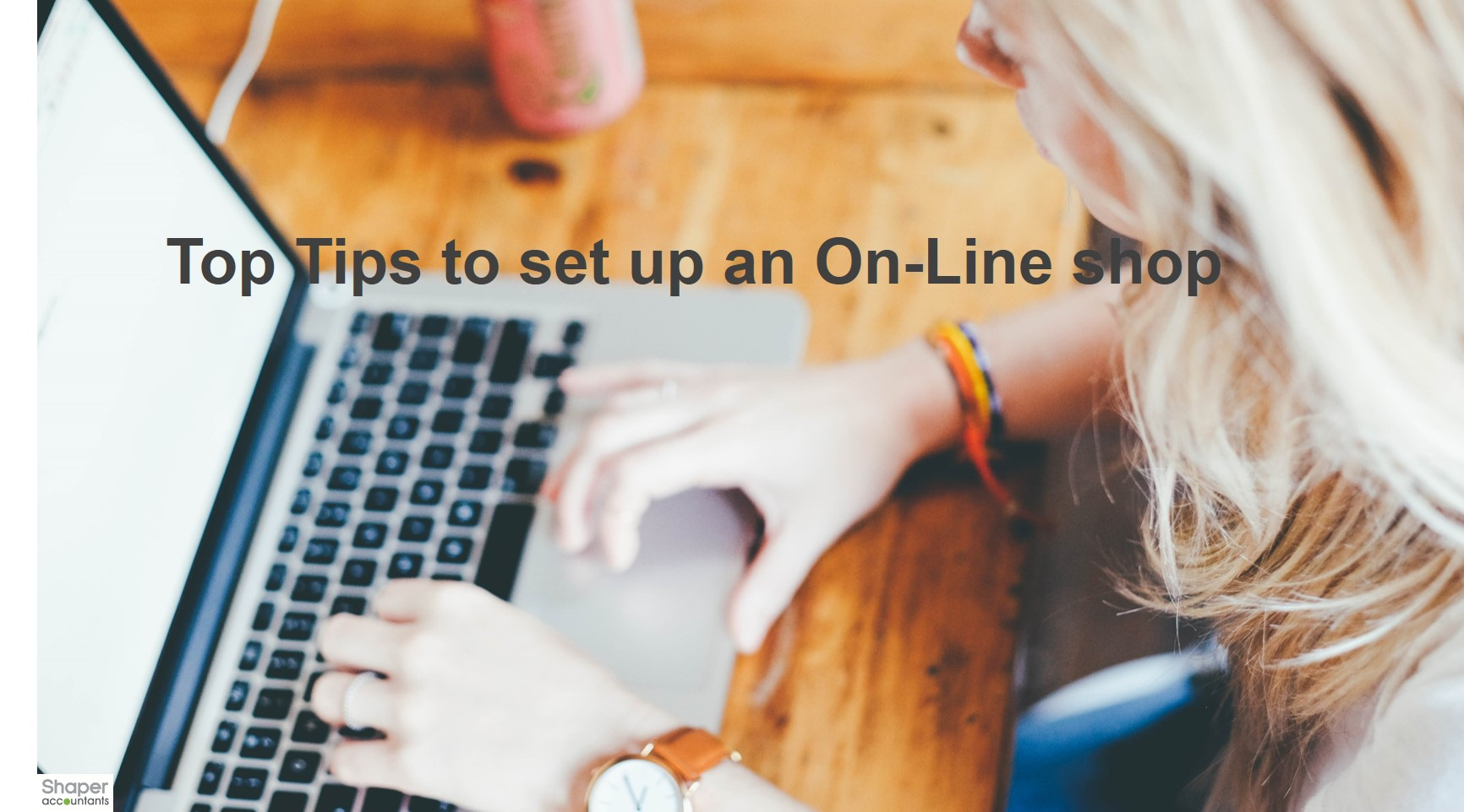 How to set up an on-line shop